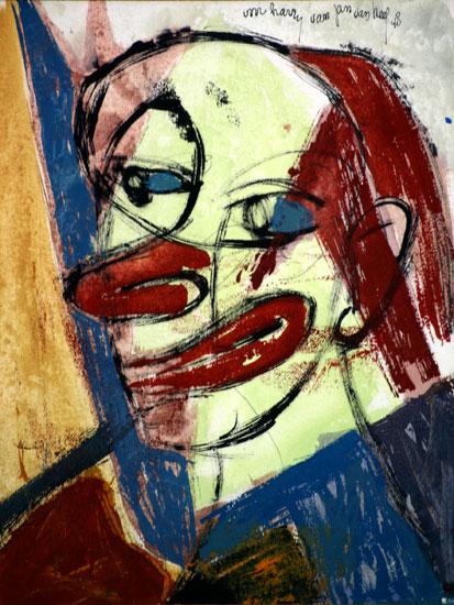 Clownskop- Jan van Heel