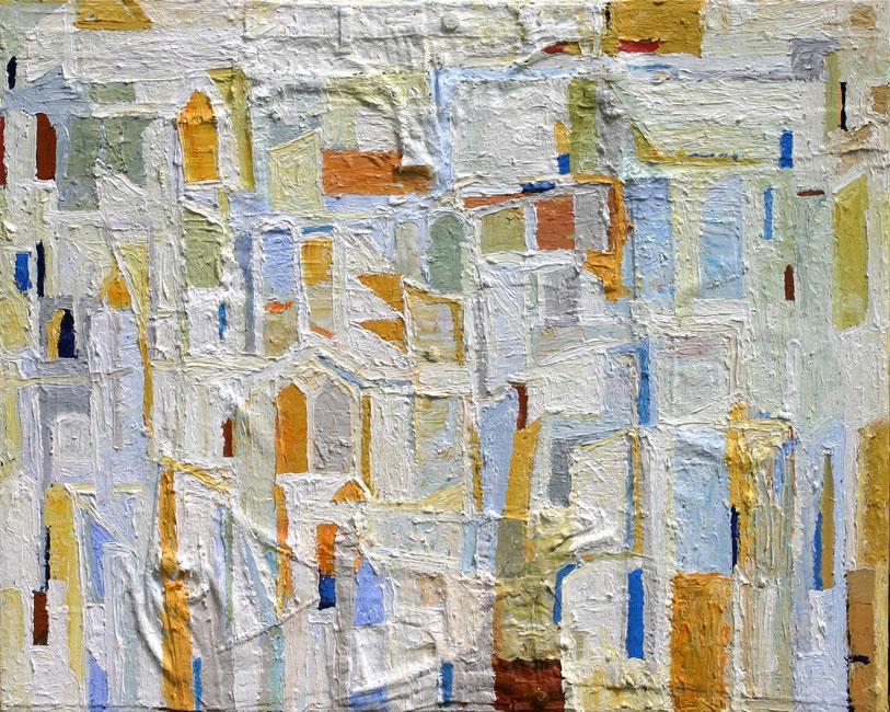 Bâtiments ( Vilage Blanc )- Theo Kuijpers