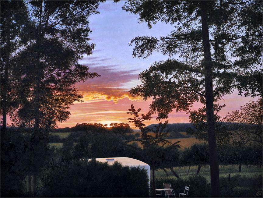L'air du soir a Villers-sur Trie- daan de Jong