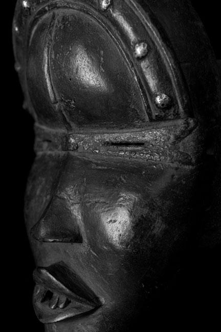 Dan Masker : Baule Ivoorkust- AFRIKA Etnografica /  tribal art from