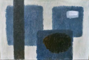 abstracte compositie- Willem Hussem