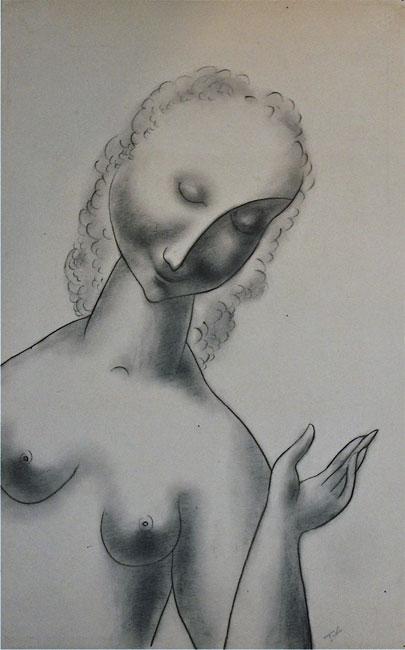 Vrouwenfiguur- Tinus van Doorn