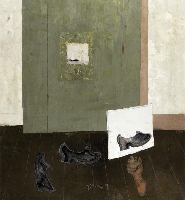 Interieur met schoenen- Jan van Heel