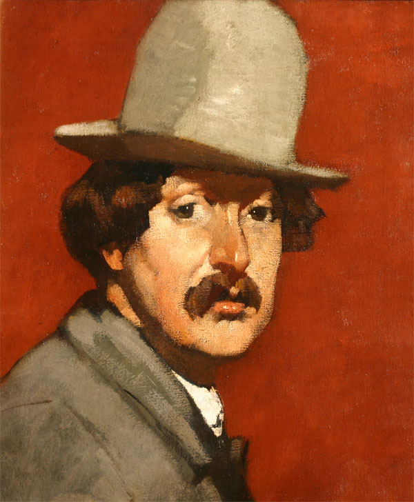 Zelfprotret 1910- Willem van den Berg