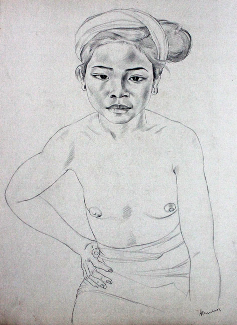 Balinese girl ( frontal)- Dolf Breetvelt