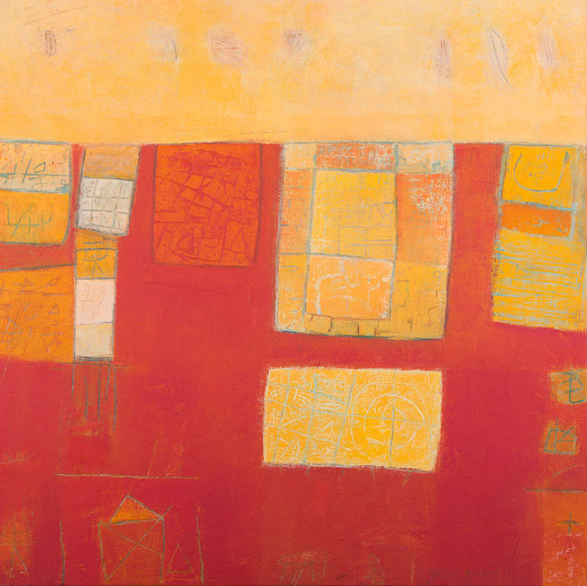 Village in Red- Qassim Alsaedy