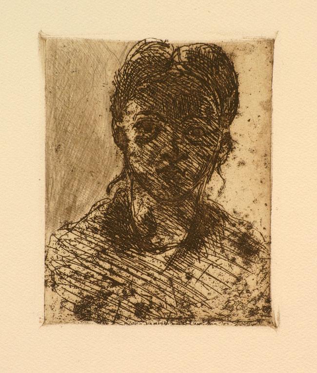 Jeunne Fille- Paul Cezanne