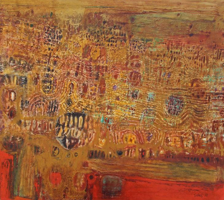 abstract composition- Ahmad Sadali
