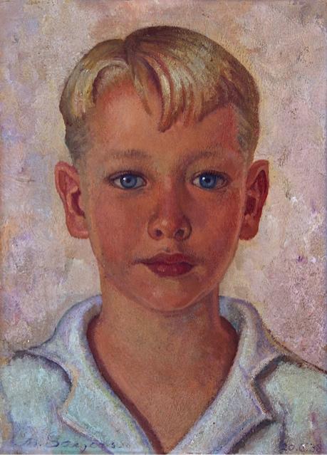 Jongensportret- Charles Sayers