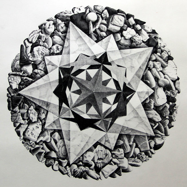 Order & Chaos II- Maurits Cornelis Escher