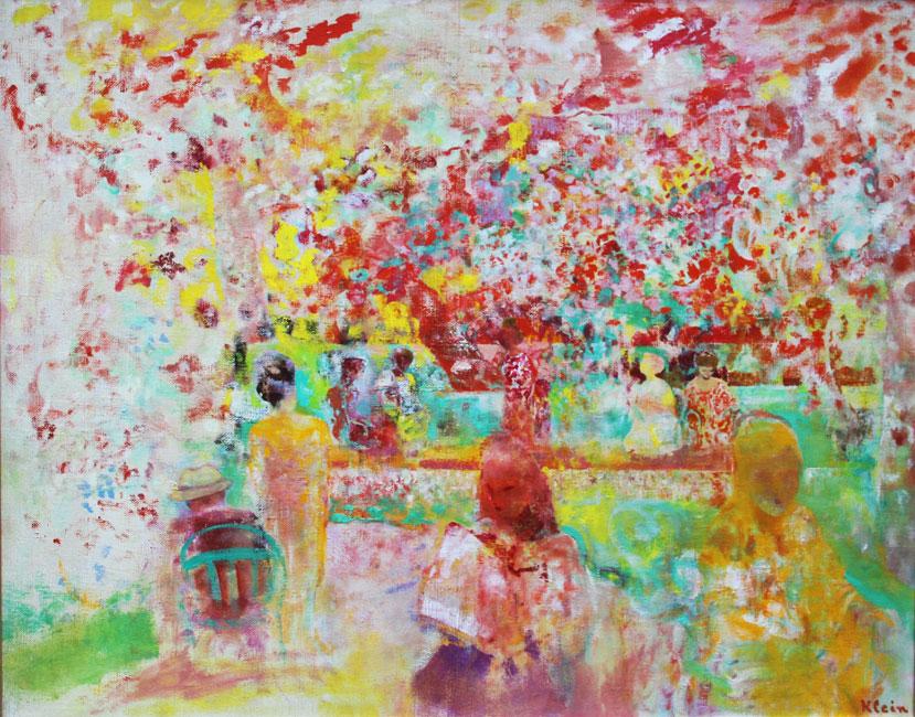 Zonnige dag in het Jardin du Luxembourg- Frits Klein