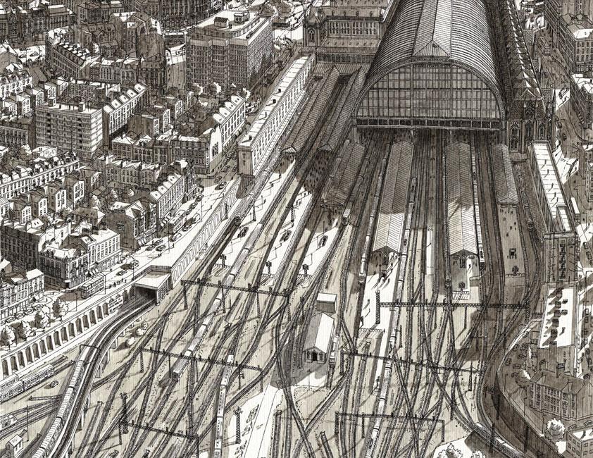 Station in Londen- Stefan Bleekrode
