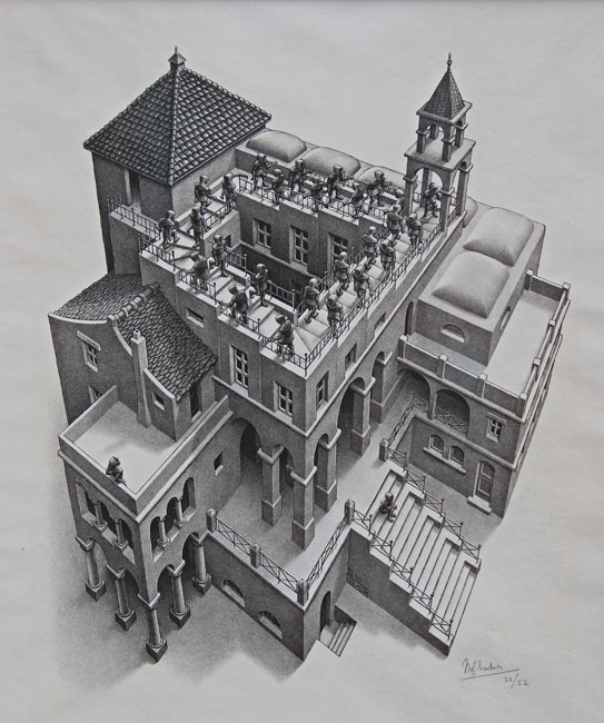 Ascending and Descending- Maurits Cornelis Escher