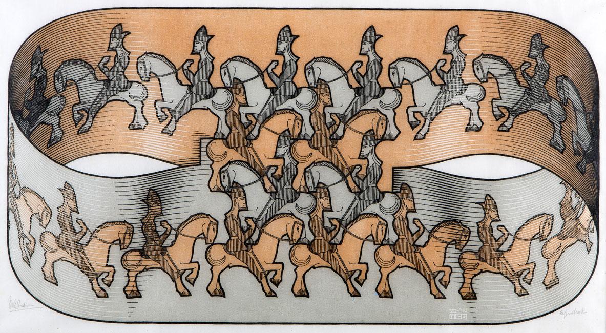 Horseman ( Ruiter )- Maurits Cornelis Escher