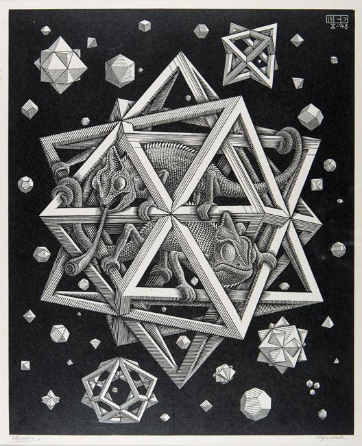 Stars ( Sterren )- Maurits Cornelis Escher