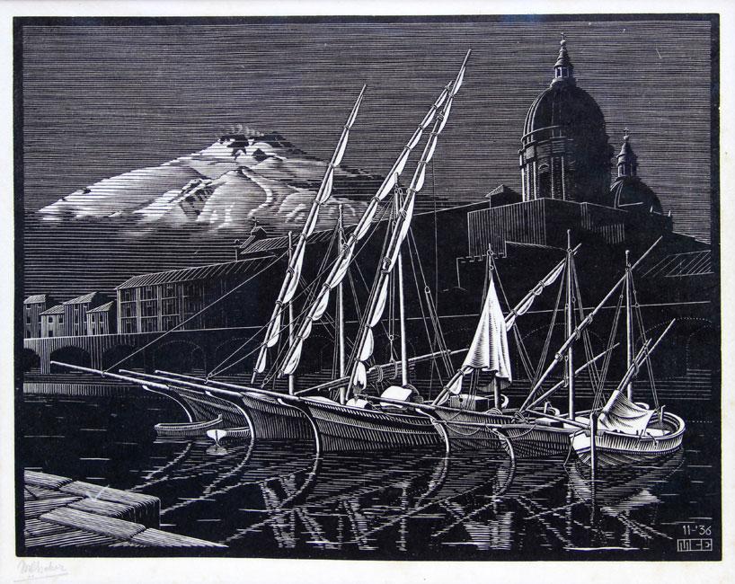Catania, Sicily- Maurits Cornelis Escher