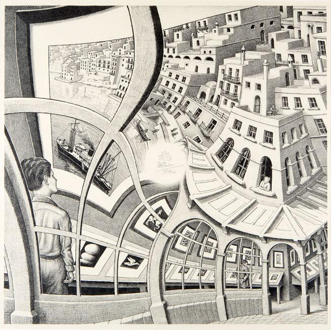 Print Gallery ( prentengalerie )- Maurits Cornelis Escher