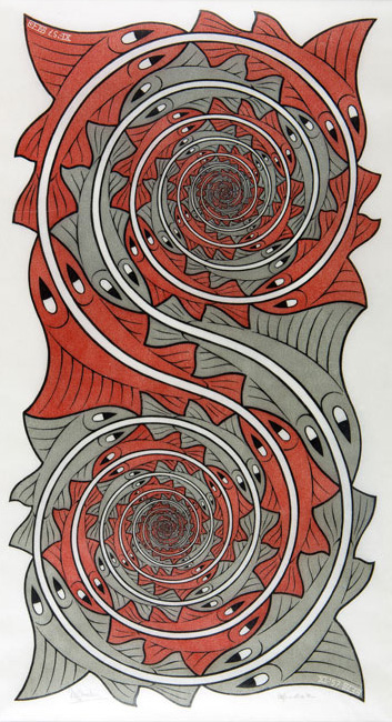 Whirlpools- Maurits Cornelis Escher