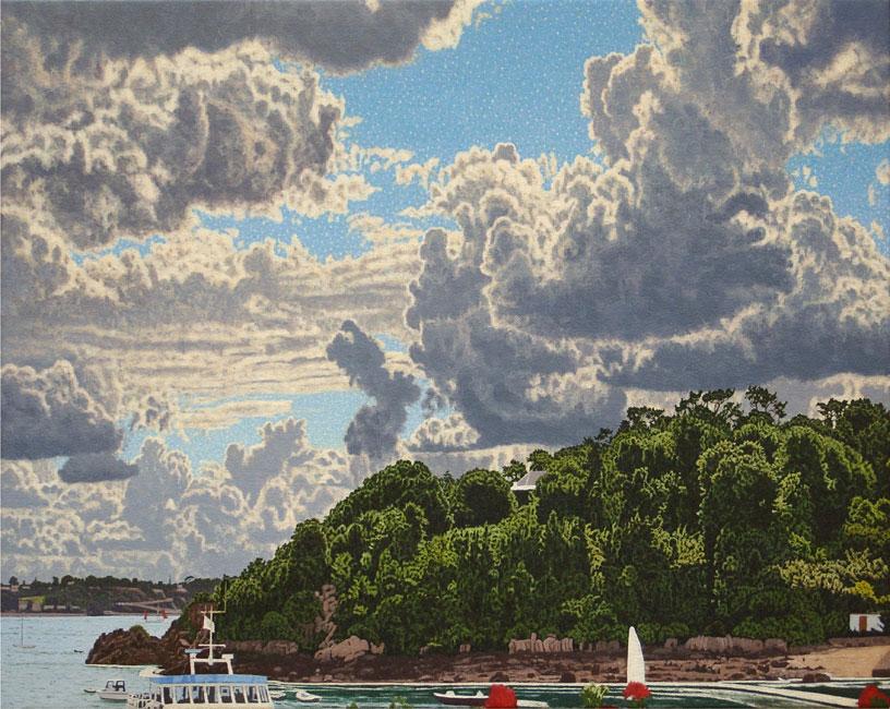 Cumulus gongestus ( Ile de Bréhat )- daan de Jong