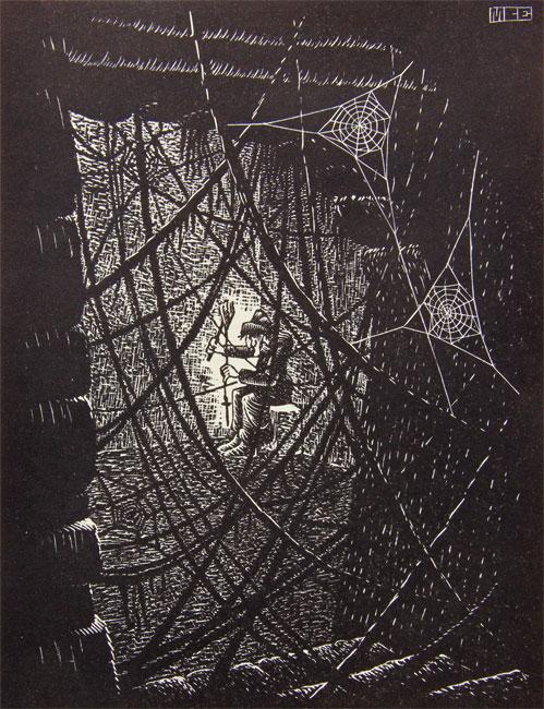 Cobwebs ( Spinnerag )- Maurits Cornelis Escher
