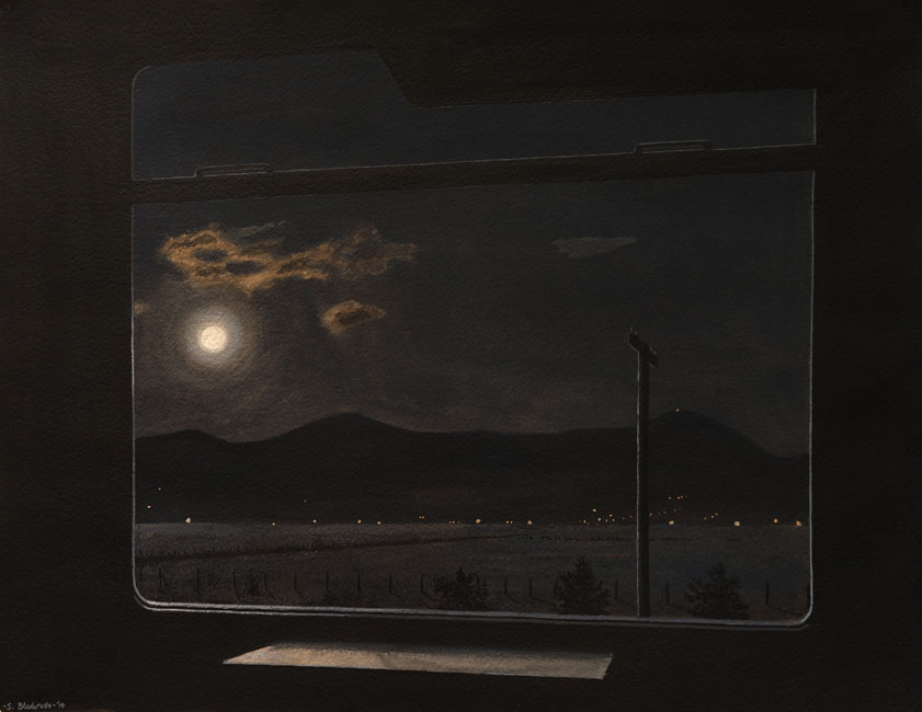Night train / Moonlight- Stefan Bleekrode
