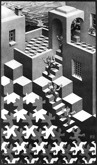 Cycle- Maurits Cornelis Escher