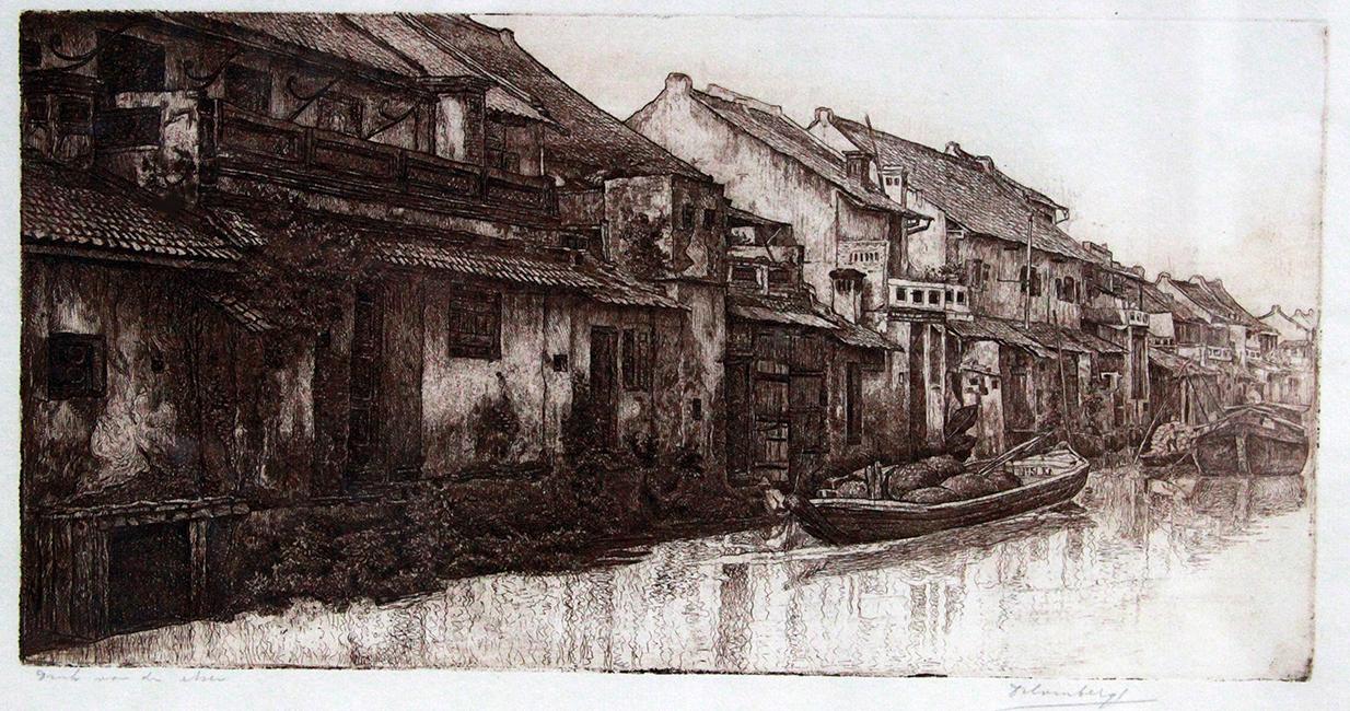 Kali Besar Batavia- Dirk Homberg