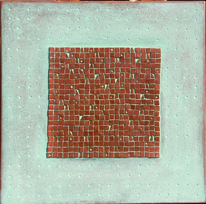 A Wall ( koper )- Qassim Alsaedy