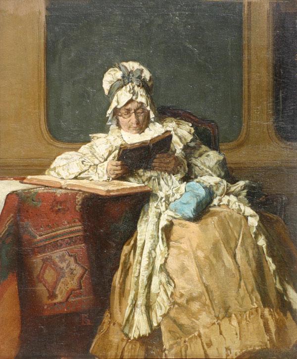 La Liseuse- Alexander Hugo Bakker Korff