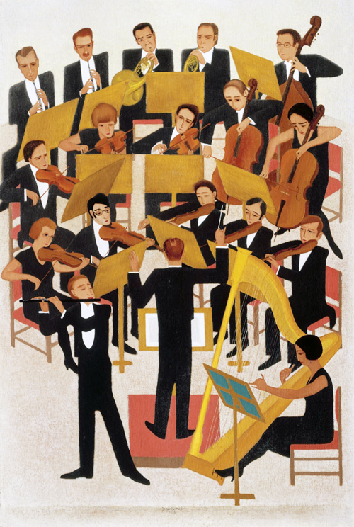 Het orkest- Johan van Hell
