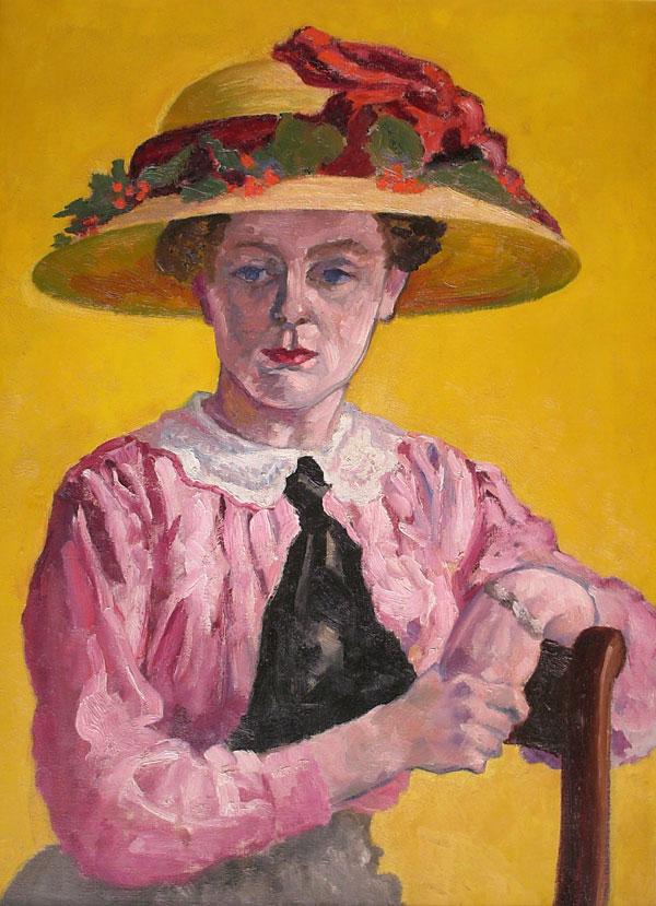 Portret van mevrouw Niehaus - van Deene- Jan van Deene